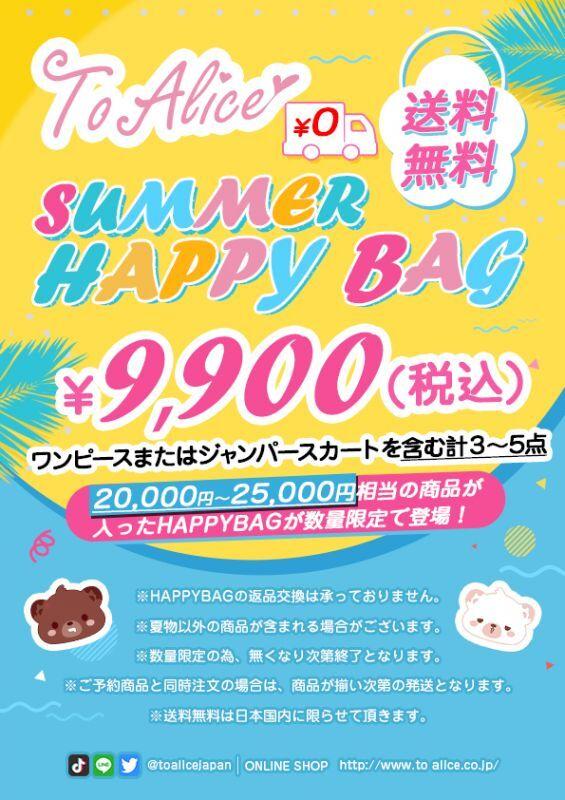 画像1: 【ToAlice】SUMMER HAPPY BAG【送料無料】 (1)