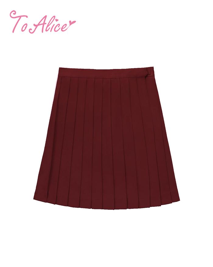 画像1: 【20%OFF】【To Alice】J445プリーツスカート (1)