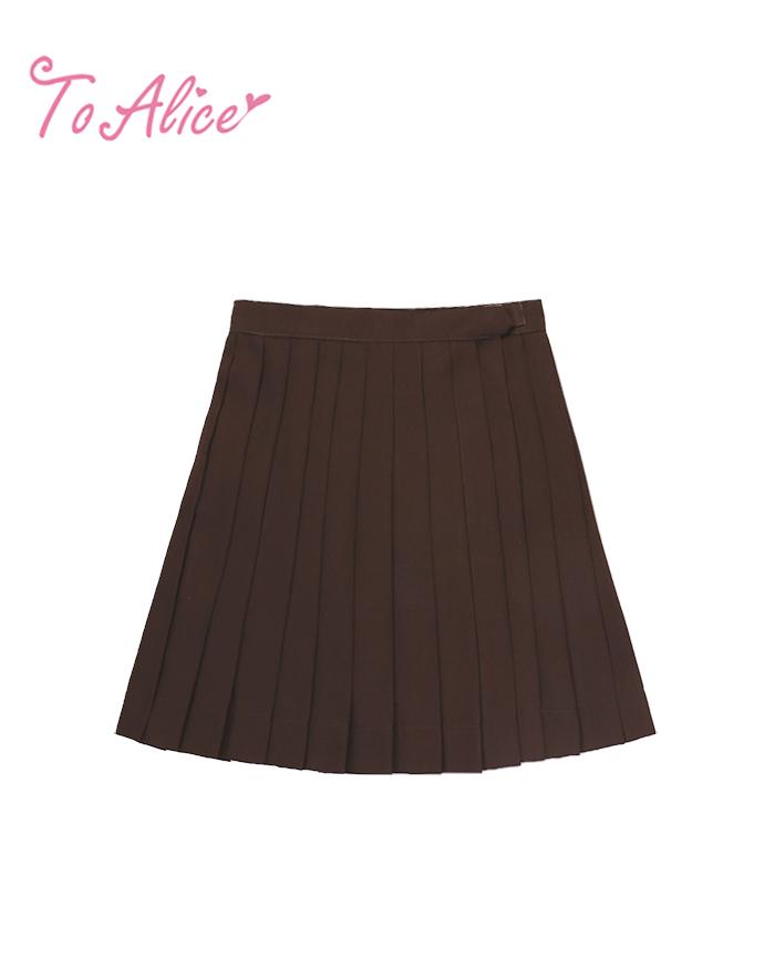 画像1: 【20%OFF】【To Alice】J447プリーツスカート (1)