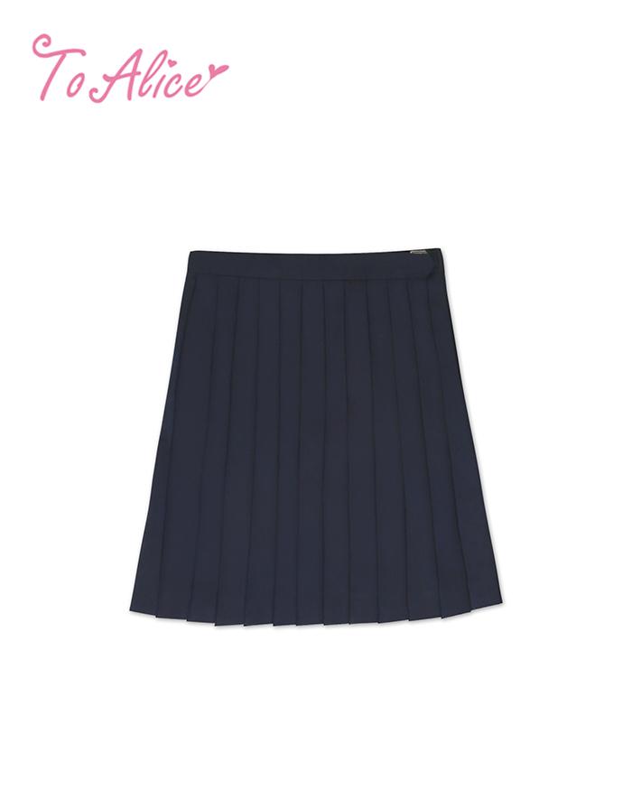画像1: 【20%OFF】【To Alice】J483プリーツスカート (1)