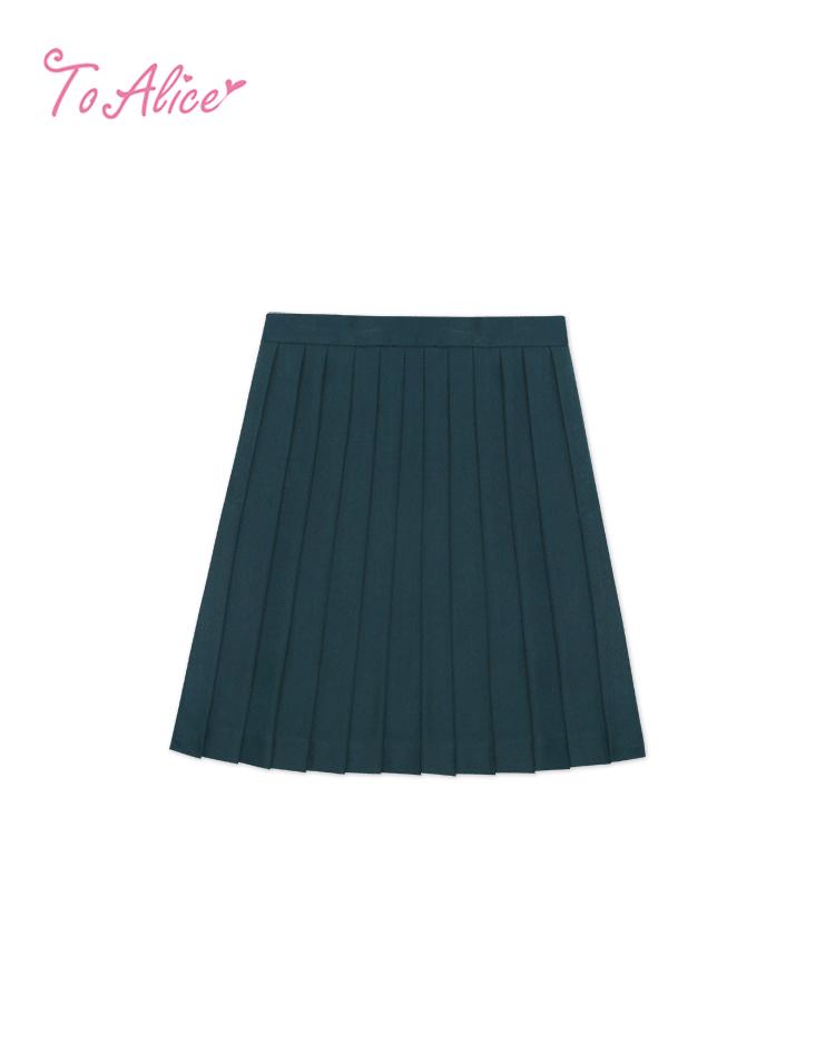 画像1: 【To Alice】J497プリーツスカート (1)