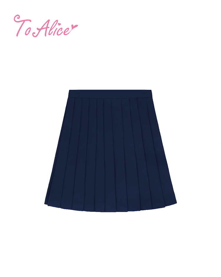 画像1: 【To Alice】J595プリーツスカート (1)