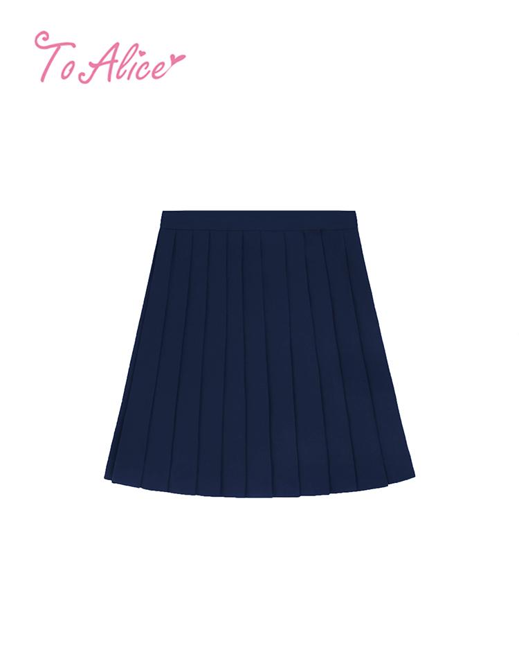 画像1: 【To Alice】J606プリーツスカート (1)