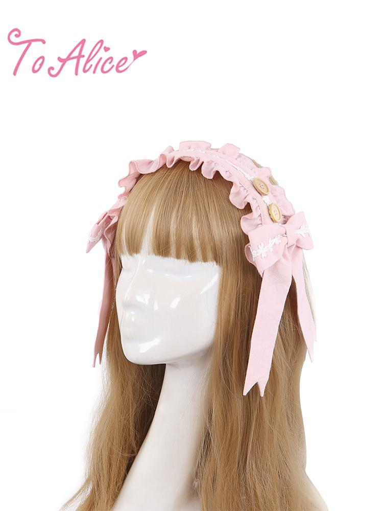 画像1: 【ToAlice】S1086フラワーデコレーションヘッドドレス (1)