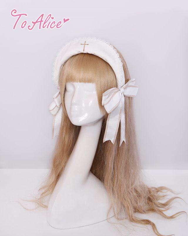 画像1: 【To Alice】S77918クロスカチューシャ (1)