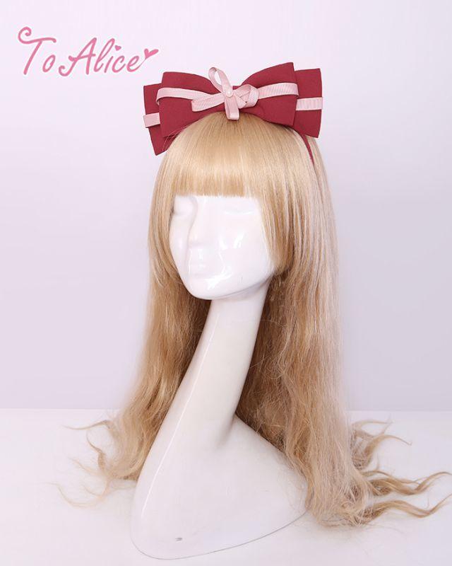 画像1: 【To Alice】S808和風カチューシャ (1)